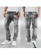 Cipo & Baxx Straight Fit Jeans Brad grau