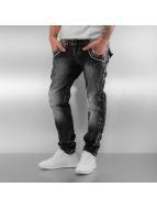 Cipo & Baxx Straight Fit Jeans Lifri grau