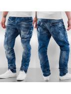 Cipo & Baxx Straight Fit Jeans Tajo mavi