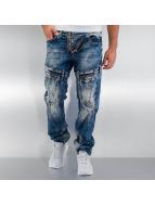 Cipo & Baxx Straight Fit Jeans Kiribati mavi