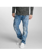 Cipo & Baxx Straight Fit Jeans Flatey mavi