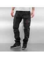 Cipo & Baxx Straight fit jeans Denim zwart