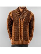 Cipo & Baxx Swetry Knit bezowy