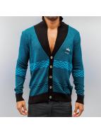 Cipo & Baxx Swetry rozpinane Knit Look turkusowy