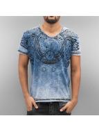 Cipo & Baxx T-Shirt Cessnock blau