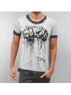 Cipo & Baxx T-Shirt Hard Club grau