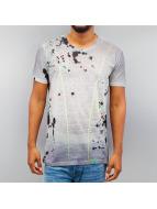 Cipo & Baxx T-Shirt Paint grau