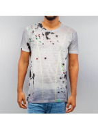Cipo & Baxx t-shirt Paint grijs