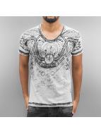 Cipo & Baxx t-shirt Cessnock grijs