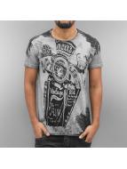 Cipo & Baxx t-shirt Mackay grijs
