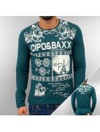 Cipo & Baxx T-Shirt manches longues Eternity vert