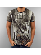 Cipo & Baxx t-shirt New York zwart