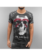 Cipo & Baxx t-shirt Karratha zwart