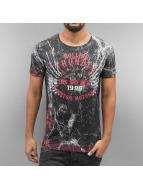 Cipo & Baxx t-shirt Rolling Thunder zwart