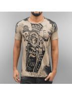 Cipo & Baxx T-shirtar Mackay brun