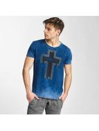 Cipo & Baxx T-shirtar Logo indigo