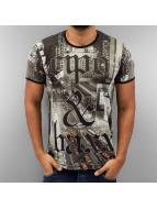 Cipo & Baxx T-shirtar New York svart