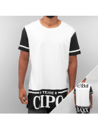 Cipo & Baxx T-shirtar Team vit