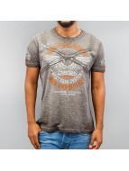 Cipo & Baxx T-Shirts Fly gri