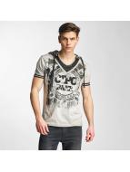 Cipo & Baxx T-Shirts Drago gri