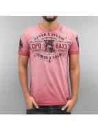 Cipo & Baxx T-Shirts After A Storm kırmızı