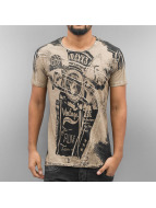 Cipo & Baxx T-Shirts Mackay kahverengi