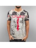 Cipo & Baxx T-Shirts Wildbeauty kahverengi