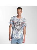 Cipo & Baxx T-Shirts Ride Forever mavi