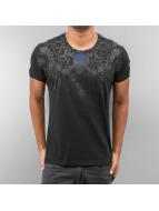 Cipo & Baxx T-Shirty Skull czarny