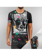 Cipo & Baxx T-Shirty Ghost II czarny