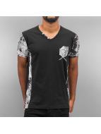 Cipo & Baxx T-Shirty Mato czarny