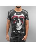 Cipo & Baxx T-Shirty Karratha czarny