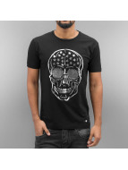 Cipo & Baxx T-Shirty Lismore czarny