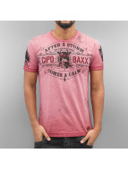 Cipo & Baxx T-Shirty After A Storm czerwony