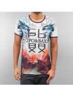 Cipo & Baxx T-Shirty Broken kolorowy
