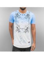 Cipo & Baxx T-Shirty Colac niebieski