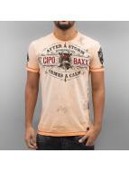 Cipo & Baxx T-Shirty After A Storm pomaranczowy