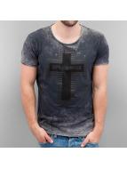 Cipo & Baxx T-Shirty Logo szary