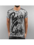 Cipo & Baxx T-Shirty Gympie szary
