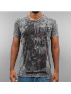 Cipo & Baxx T-skjorter Future grå