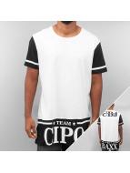 Cipo & Baxx T-skjorter Team hvit