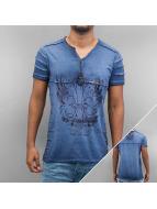 Cipo & Baxx T-skjorter Abbas indigo