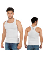Cipo & Baxx Tank Tops Basic white