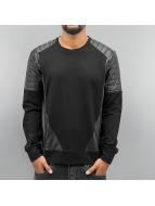 Cipo & Baxx trui Sweatshirt zwart