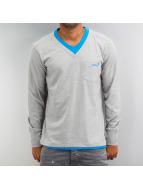 Clang Camiseta de manga larga Jaron gris