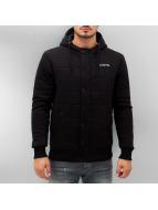 Clang Hoodies con zip Brushed Fleece nero