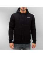 Clang Sweatvest Brushed Fleece zwart