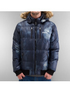 Clang winterjas Expedition Nylon blauw