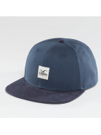 Cleptomanicx Badger 2 Snapback Cap MJ Blue