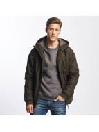 Cleptomanicx Winterjacke Polarzipper olive